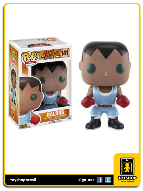 Street Fighter: Balrog Pop - Funko