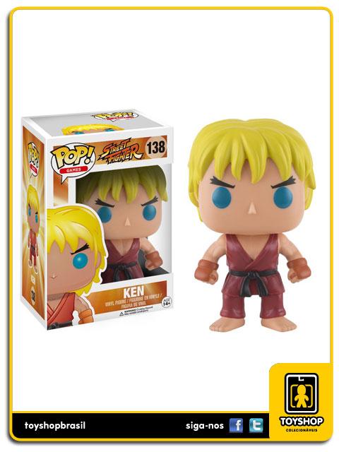 Street Fighter: Ken Pop - Funko
