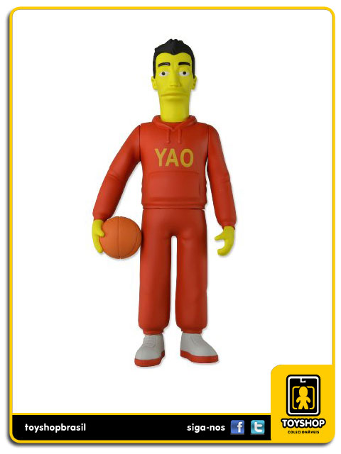 The Simpsons 25th Anniversary: Yao Ming - Neca