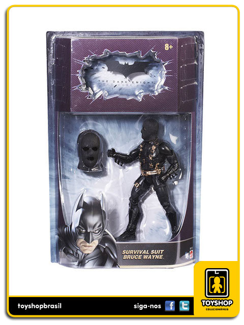 Batman The Dark Knight: Batman Survival Suit - Mattel