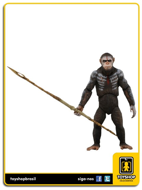 Dawn of The Planet Of The Apes Caesar  Neca