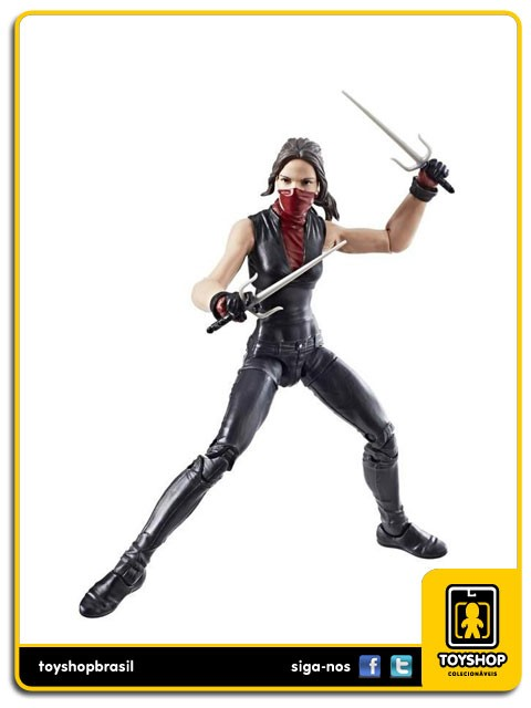Marvel Legends Man-Thing Elektra Hasbro