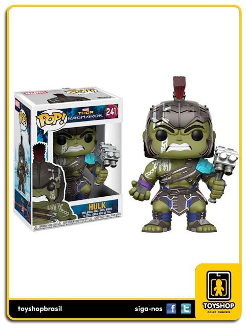 Marvel Thor Ragnarok Hulk 241 Pop  Funko