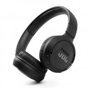 Fone de Ouvido JBL Tune 510BT Bluetooth Pure Bass 40h Bateria - Preto