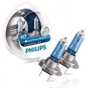 Lâmpada Philips Crystal Vision Ultra H7 4100K 12V 55W W5W - Par