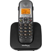 Telefone Intelbras TS5120 Sem fio Digital - Preto