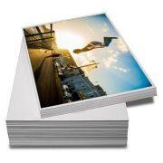 100 Folhas De Papel Fotográfico Super Brilho A4