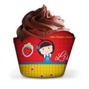 50 Forma de Cupcake Personalizado