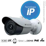 Câmera IP Bullet Infravermelho TW-ICB400 Tecvoz 4.0MP (2k) Lente 3,6mm