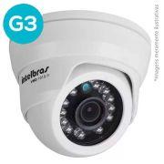 Câmera Dome Infravermelho Híbrida Intelbras VMD 1010 IR G3 - AHD HD 720p e Analógica 900 Linhas