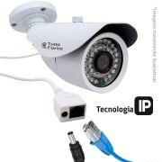 Câmera IP Bullet Infravermelho Tudo Forte IP-876 1.3M Lente 3,6mm