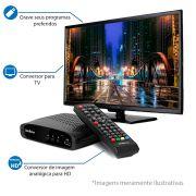 Conversor de TV Digital com Gravação da Programação via Pen Drive Intelbras CD 636