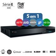 DVR Stand Alone  Tecvoz TW E308 08 Ch 1080N Flex 5 em 1 - HD-TVI / HD-CVI / AHD / CVBS / IP