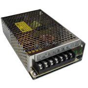 Fonte Chaveada 12V 10A Tipo Colméia, Ideal para CFTV
