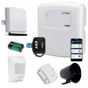 Kit de Alarme ECP 13 Sensores com Discadora Celular GSM ECP