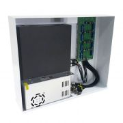Rack Mini Orion HD 3000 Organizador de Cabos Onix Security Para DVR 4 Canais - Compatível c/ Todos DVRs HDCVI / TVI / AHD