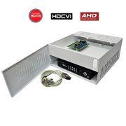 Rack Organizador HD e Analógico, Mini Iron House, 4 Canais, Onix Security