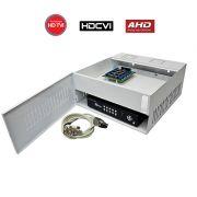 Rack Organizador HD e Analógico, Mini Iron House, 8 Canais, Onix Security