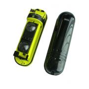 Sensor Infravermelho Ativo Duplo Feixe Samtek STK XT 2/150, 150 metros, digital, uso externo ou interno, IP66