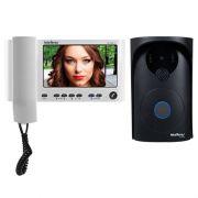 Video Porteiro Intelbras IV 7000HS, 2 Saidas para Fechadura, Suporta 4 Canais de Video, Câmera Externa Oculta com Infravermelho