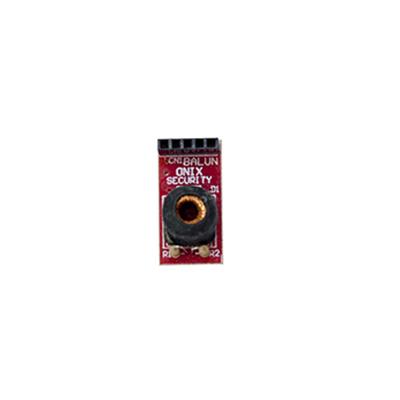 Balun Placa Onix p/ Rack Compatível com HDCVI, HDTVI, AHD e Analógico - Conversor de par trançado passivo, 300m, Utiliza Cabo Lan