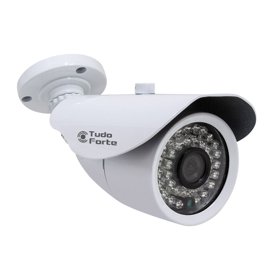 Câmera Bullet Infravermelho AHD M Tudo Forte 787 HD 720p 1.0M 3,6mm IP66 - Uso Interno /Externo