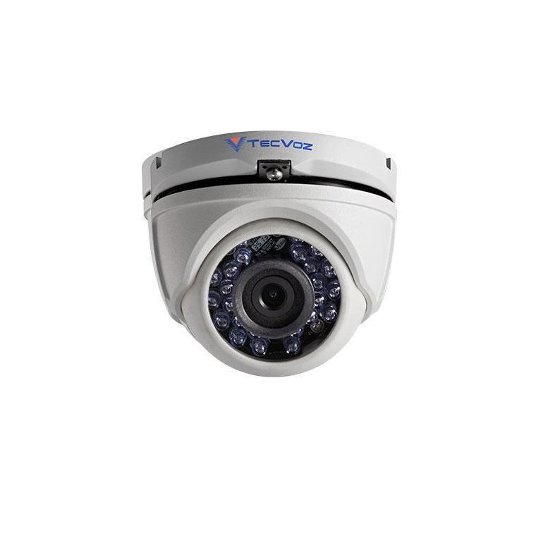 Câmera Dome Infravermelho HDTVI Tecvoz TDM-2036 HD 1080p 3,6mm