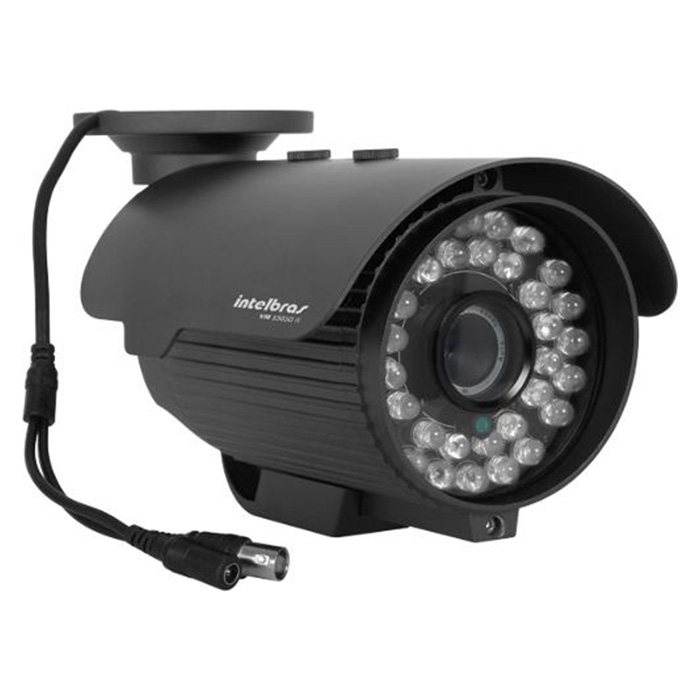 Câmera Bullet Infravermelho Intelbras VM S5030 CZ 600 Linhas 6,0mm