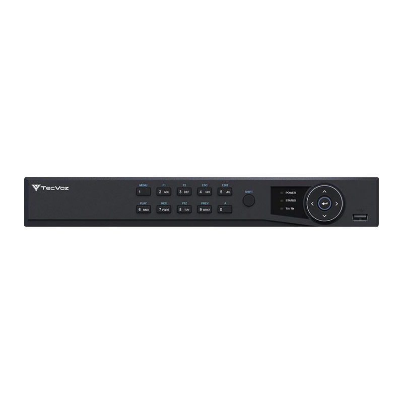 DVR Stand Alone Tríbrido HDTVI Tecvoz T1-STVI04/S 4 Canais