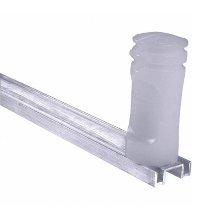 Haste Cerca Elétrica 75cm com 04 Isoladores molelo M2