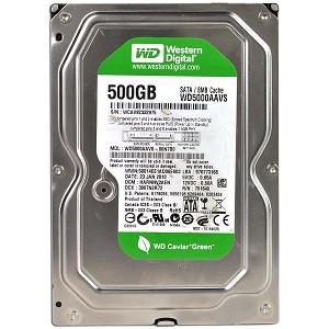 HD Sata Western Digital Green 500GB