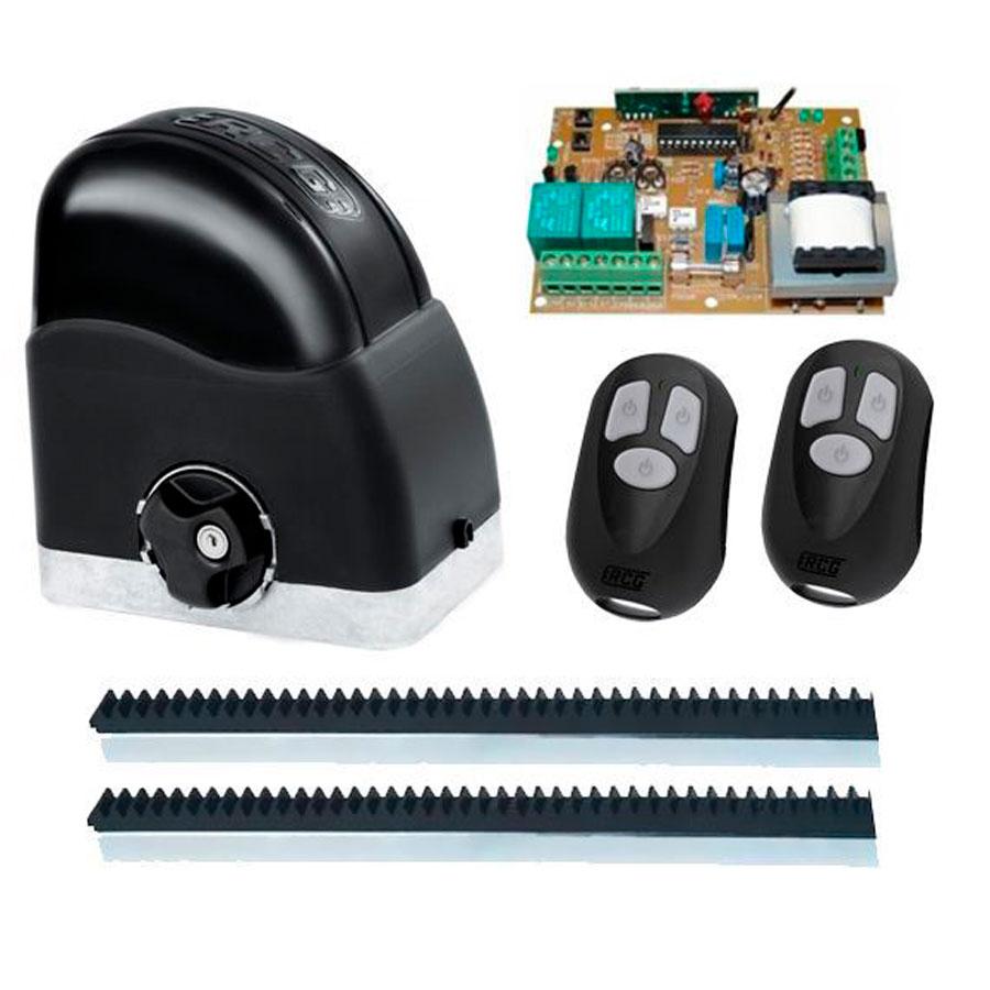 Kit Automatizador Deslizante 1/4 Portão Eletrônico Slider Maxi Speedy RCG, 127V