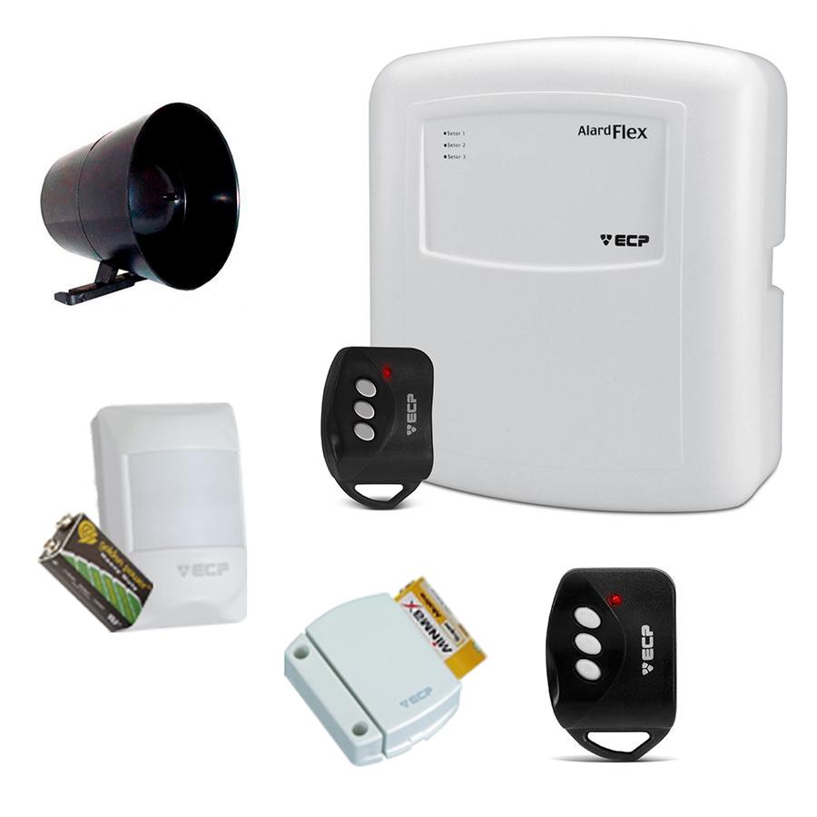 Kit de Alarme ECP 02 Sensores Sem Fio