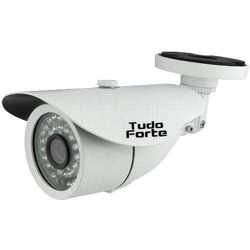Kit CFTV 12 Câmeras Infra 720p Tudo Forte + DVR TVZ Security AHD M + HD WD Purple 2TB + Acessórios