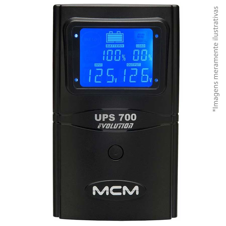 MCM Nobreak Evolution UPS 700VA