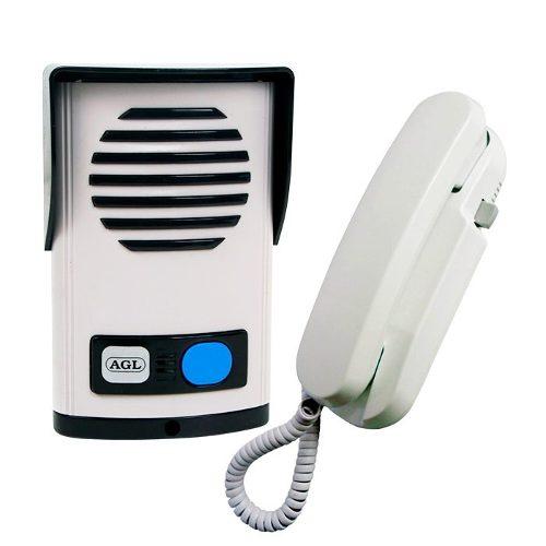 Interfone Porteiro Eletrônico AGL P 20 - Aliment. Interna C/ Saída 12V