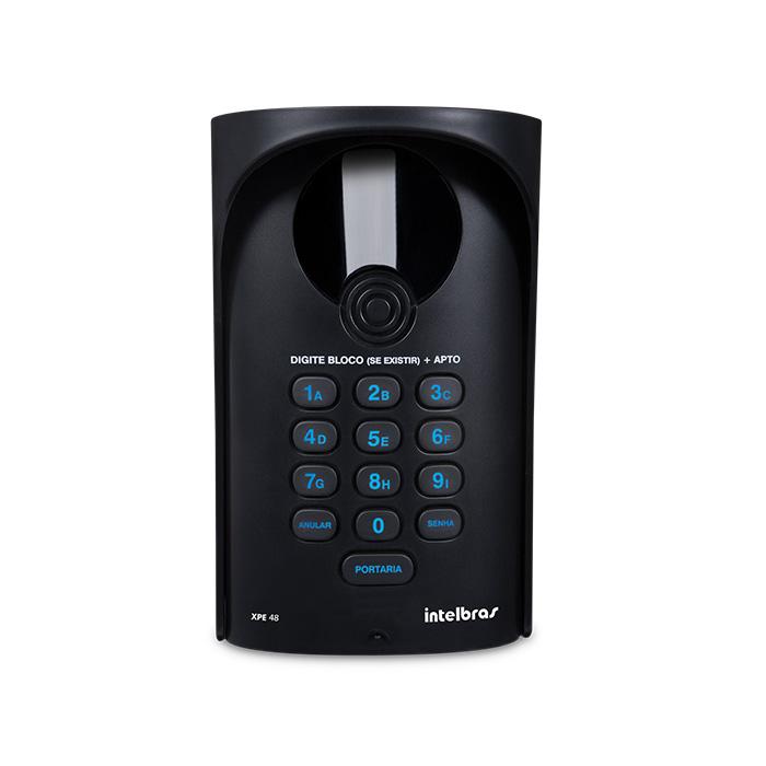 Porteiro eletrônico XPE 48 exclusivo para central de portaria Comunic 48