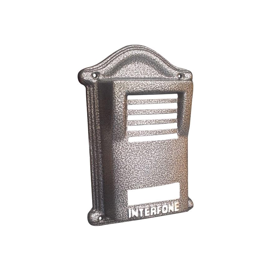 Protetor Anti-Vandalismo para Interfone HDL F8 - Cinza