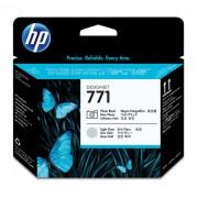 Cabe�a de Impress�o HP 771 CE020A Preto Fotografico e Cinza Claro