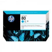 Cartucho de Plotter HP 80 C4872A Ciano