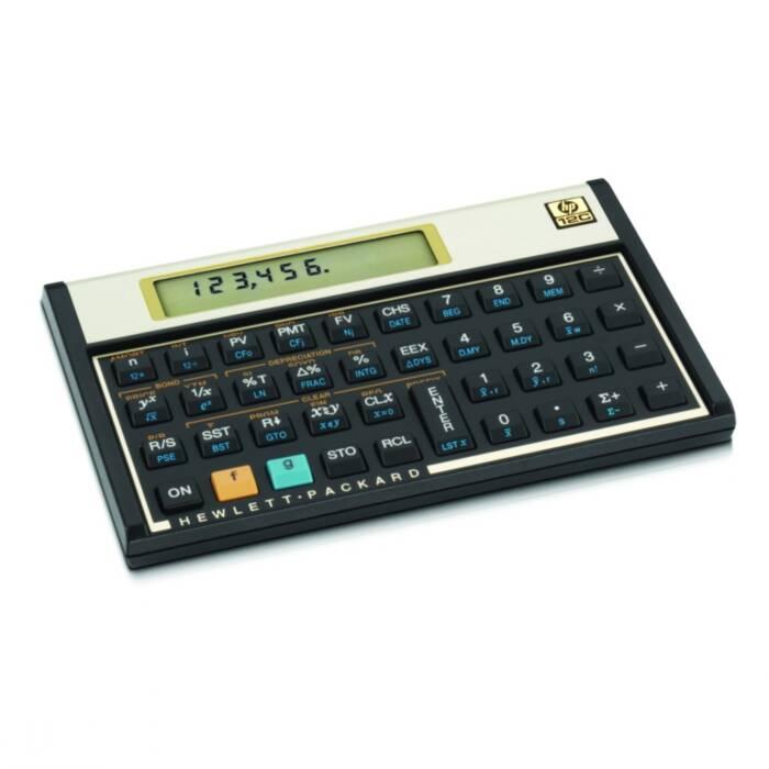 Calculadora Financeira 12C Gold HP C/ 3 Anos de Garantia