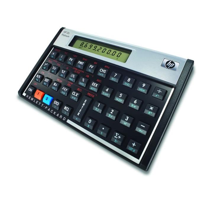 Calculadora Financeira 12C Platinum HP