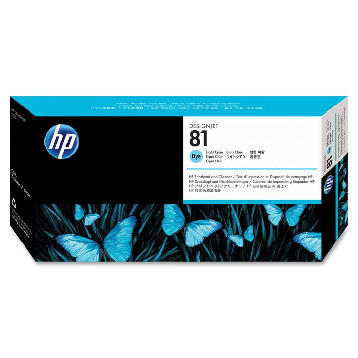 Cartucho de Plotter HP 81 C4931A Ciano