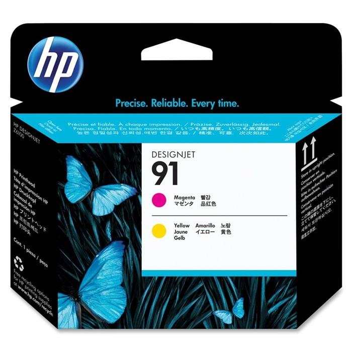 Cabeça de Impressão HP 91 C9461A Magenta e Amarelo