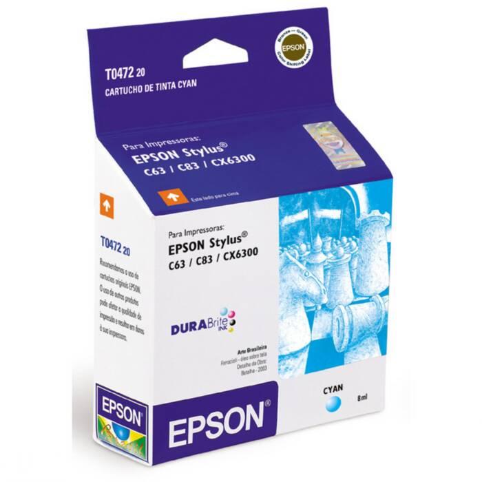 Cartucho de Tinta EPSON T047220 Ciano