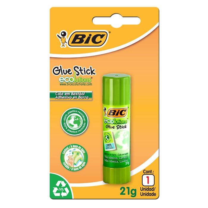 Cola Bastão Stick Ecolutions 21G 1400354 BIC