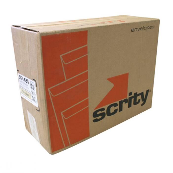 Envelope Vai-Vem Kraft C/ ilhos 250MMX353MM 80G CX. C/ 100 Un. Scrity