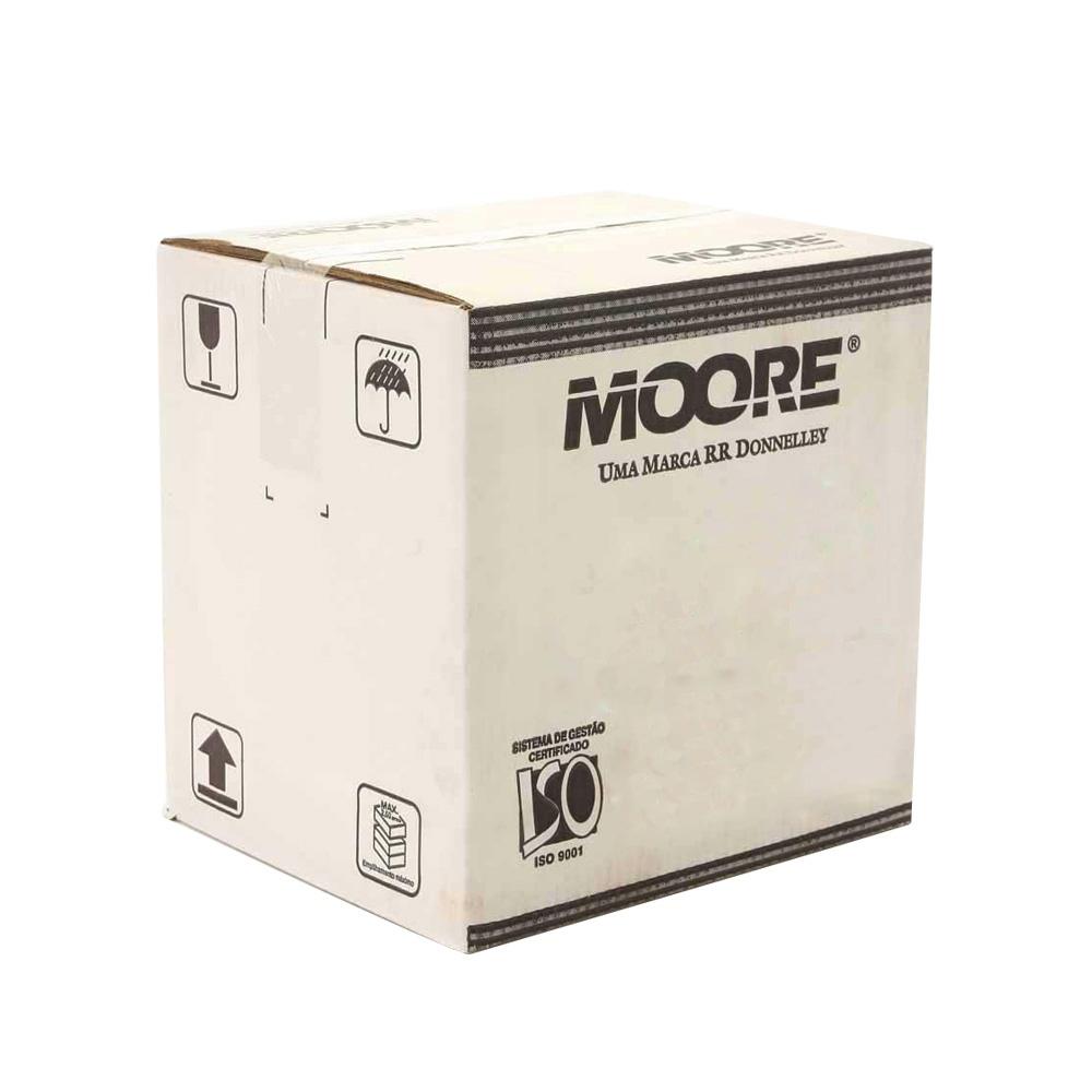 Formulário 80C 3V Branco Carbonado Razão CX. C/ 1800 Jgs 1511-3 Moore