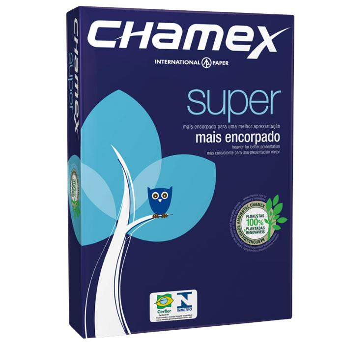 Papel A4 Chamex Super 90G 210X297MM C/ 500 Fls