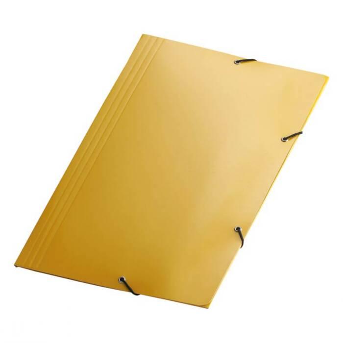 Pasta Aba / Elástico Amarela Plastif. Cartão Triplex. 350x240mm 300g Yes
